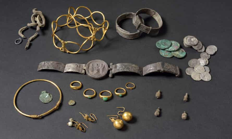 The Fenwick hoard will be on display for the first time.