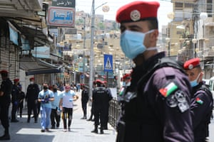 Coronavirus restrictions begin to lift in Amman, Jordan.