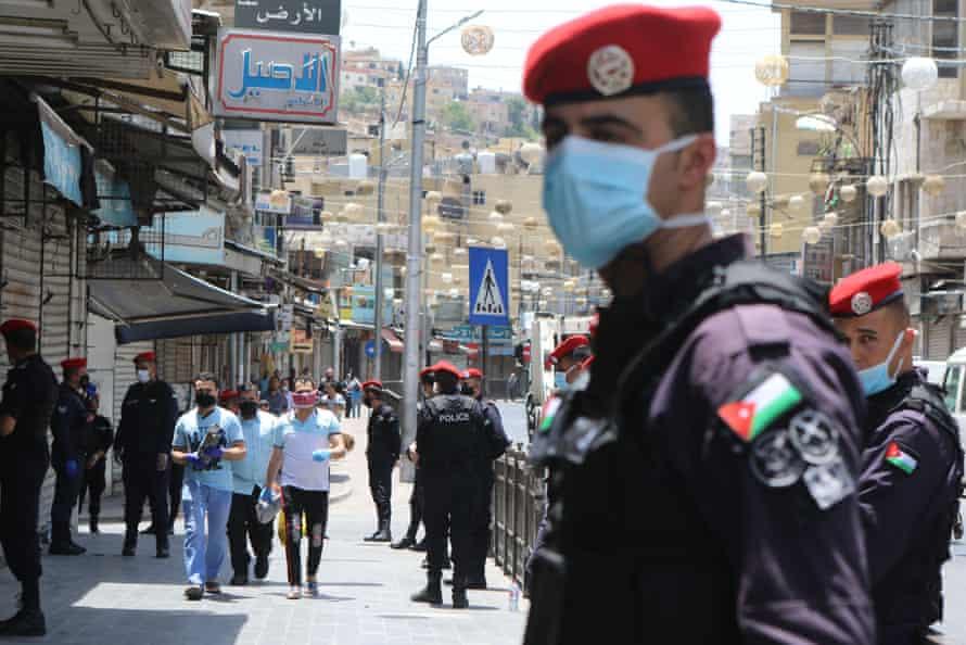 Coronavirus restrictions begin to lift in Amman, Jordan.