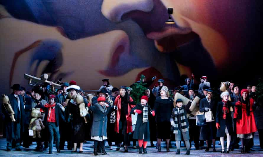 Opera North's 2010 production of La Bohème, directed by Phyllida Lloyd.