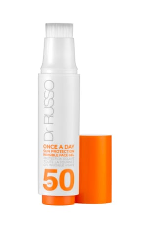 Dr Russo Once a Day Sun Protection Invisible Face Gel SPF 50, £26.95, lookfantastic.com