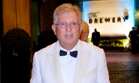 John Griffin, founder of Addison Lee, pictured in 2016