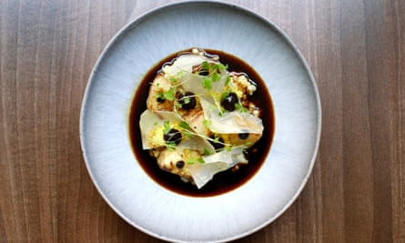 'Deep, intense and, well, meaty': celeriac and barley.