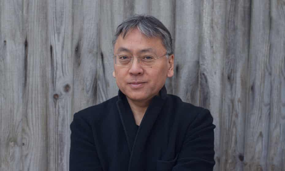 'Writers won their Nobel prizes in their 60s for work they did in their 30s. Now perhaps it applies to me personally' ... Kazuo Ishiguro