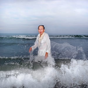 Ana Nance (single image winner) Mary Kays Last Portrait North Myrtle Beach, South Carolina. In the south of the United States exists the religious ritual of baptism. This portrait is of my stepmother, Mary Kay, whom I posed in the Atlantic Ocean in the same spot where I spent many moments as a little girl. Her pose is a tribute to my father; she is copying a portrait I shot of him many years ago, just before his death from cancer. These portraits are a way of baptising my family – not with religion, but with love. Mary Kay passed away this October from cancer, too