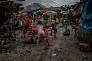 A street in Navotas, Metro Manila