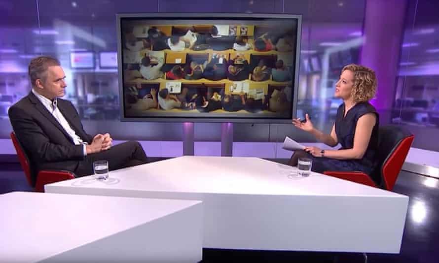 Cathy Newman interviews Jordan Peterson.