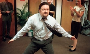 Gervais reprises David Brent for Comic Relief Day 2002.