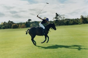 Millie Hughes, Polo Like a Lady: at Black Bears polo club in Henley-on-Thames, 2020