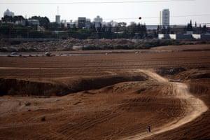 Beersheba from Tel el Saba