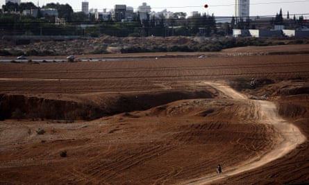 Beersheba from Tel el Saba. Photograph taken in October 2009.