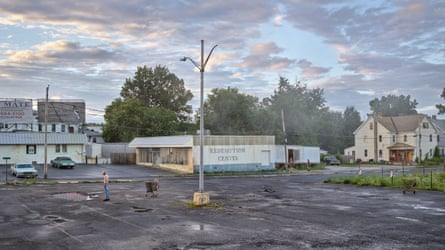 Redemption Center, 2018–19, from Gregory Crewdson: An Eclipse of Moths (Aperture, 2020) © Gregory Crewdson, courtesy Gagosian.