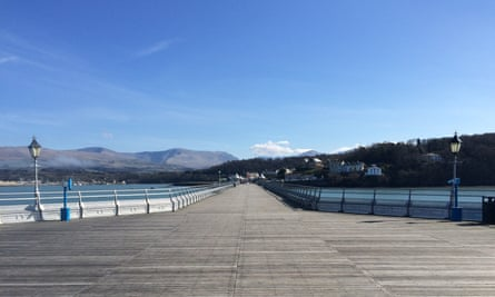 Bangor Pier is a perfectly positioned Grade ll Listed Structure on the Menai Straits and offers magnificent views of Anglesey and the Welsh Mainland