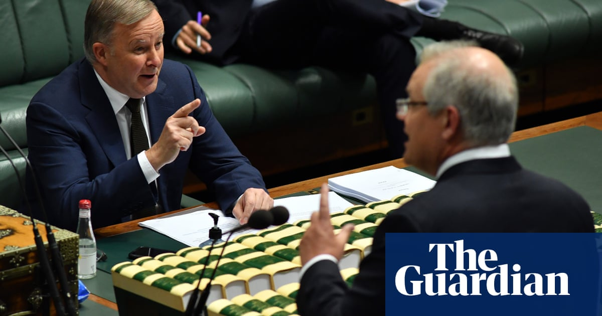 Morrison and Albanese set out competing visions for Australia's coronavirus recovery – The Guardian