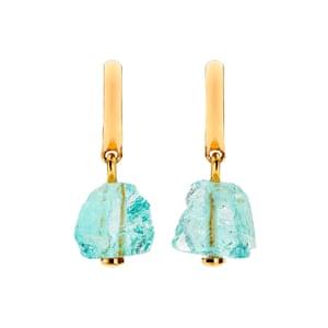 Aquamarine drops, £125, monicavinader.com