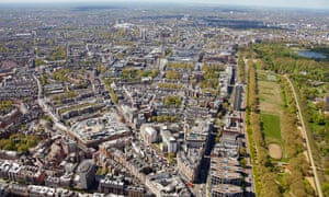 Builders are constructing towers in London containing nearly 8,000 homes priced between £1m and £10m.
