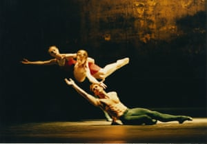 The Protecting Veil: Dorcas Walters, Robert Parker and David Justin in 'Transfiguration', 1998