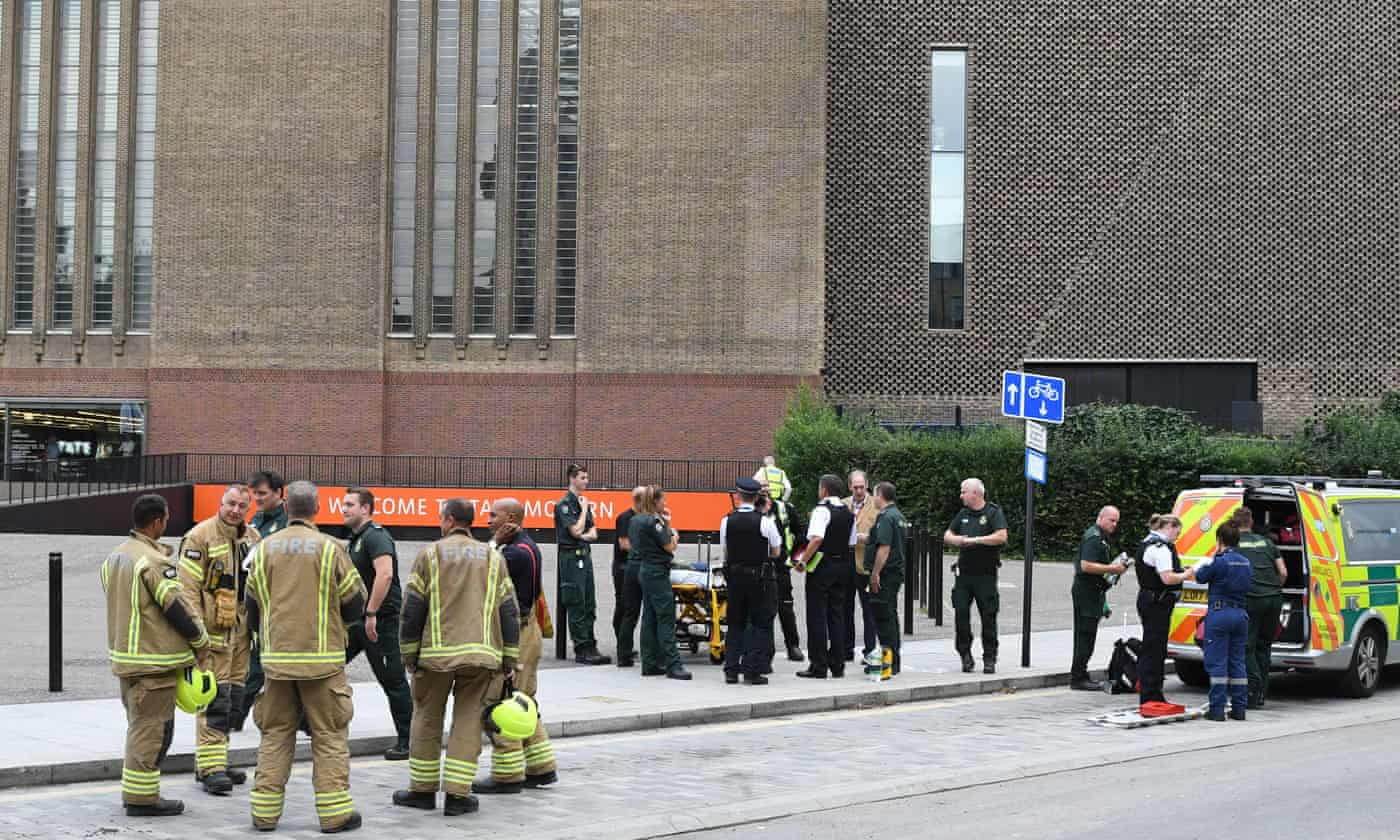 Family of six-year-old boy who fell from Tate Modern say he is stable