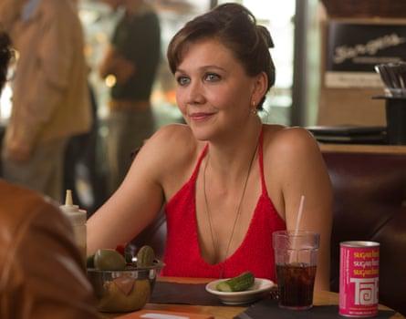 Candy … Maggie Gyllenhaal in The Deuce .
