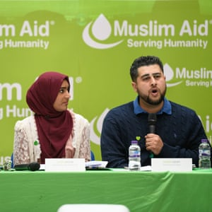 Muslim Aid launches its report into charities' response to the Grenfell fire.