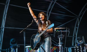 KT Tunstall on stage