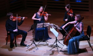 The Sacconi Quartet's 15th-anniversary concert at Kings Place, London.