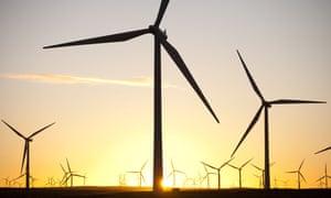 Windfarm south of Glasgow