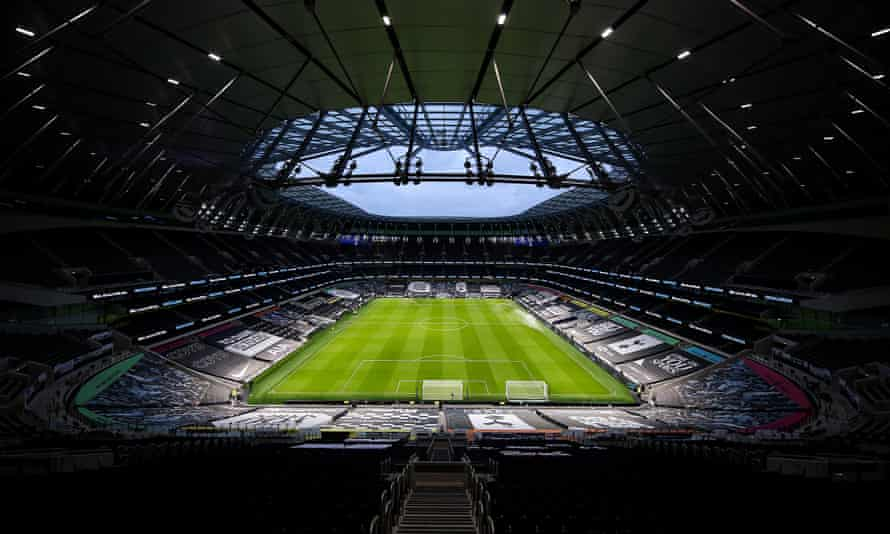Daniel Levy said the pandemic could not have come at 'a worse time' following the club's £1.2bn stadium build.