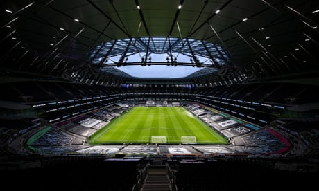 Daniel Levy warns of 'irrecoverable loss of income' at Spurs unless fans return