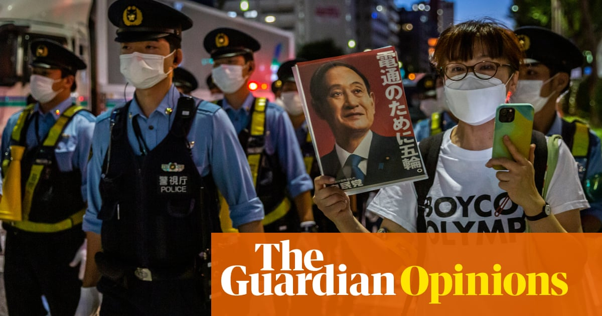 By holding the Tokyo Olympics, Japan's government is gambling with people's lives