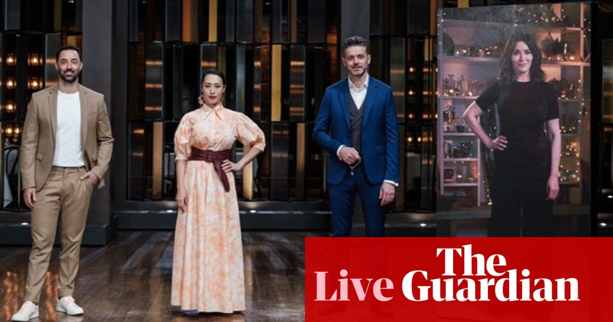 MasterChef 2021 Australia elimination: Nigella Lawson dials in to boot a contestant out – live blog – The Guardian