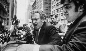 Jimmy Breslin, right, supporting Norman Mailer's quixotic campaign to be mayor of New York in 1969.