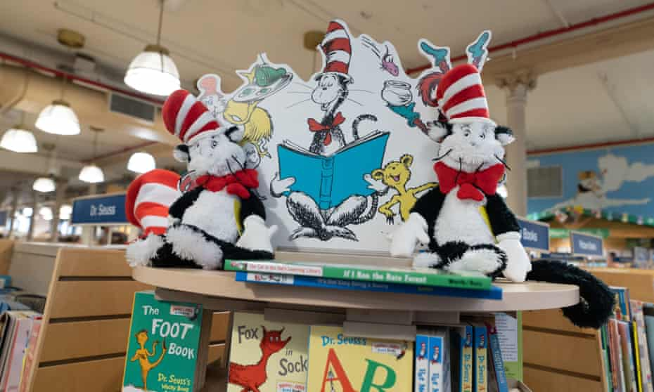 'So the reality is, you're going to talk about Dr Seuss when you have nothing to say about Covid-19.'