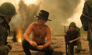 Robert Duvall in Apocalypse Now - The Final Cut