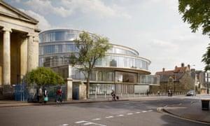 The Blavatnik School of Government in Oxford by Herzog & de Meuron