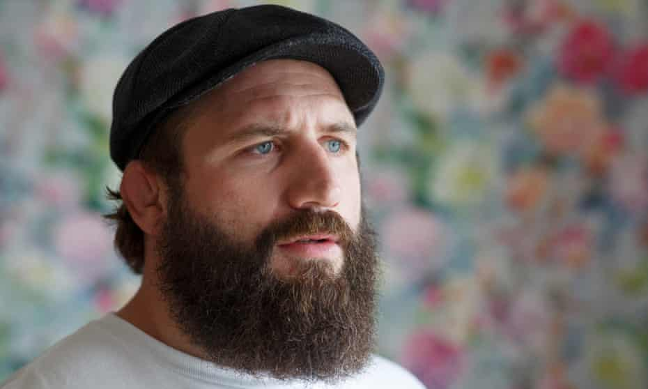 Joe Marler at home in East Sussex: 'I'm no mental health expert but I feel a lot better talking about it.'