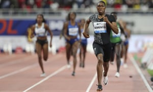 Caster Semenya runs in her 30th 800m victory