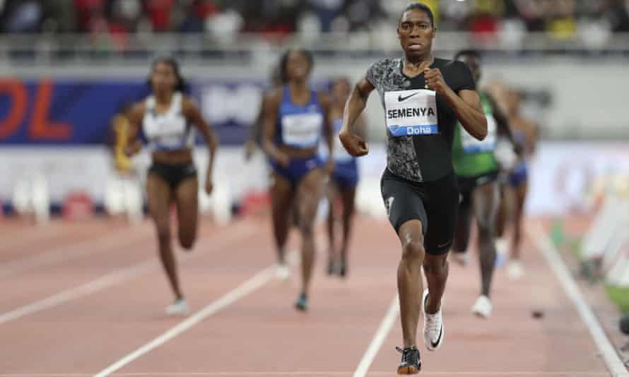 Caster Semenya runs in her 30th 800m victory