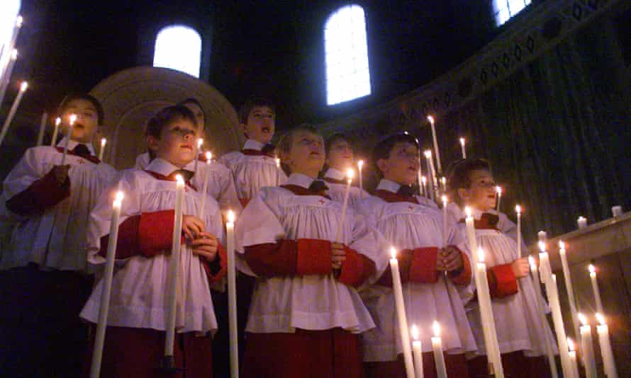 Westminster Cathedral Choir at Christmas.
