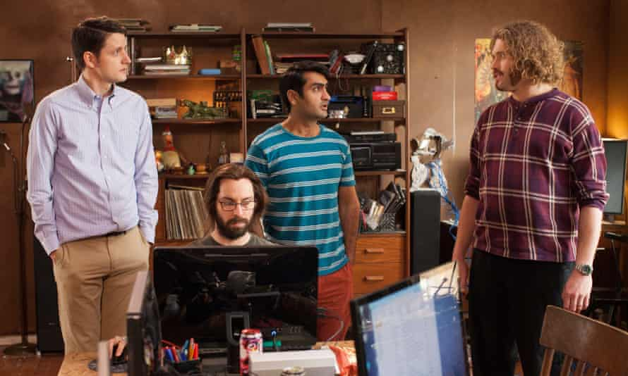 A scene from Silicon Valley, the HBO comedy, which has helped spawn a tech jargon dictionary.