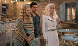 Mamma Mia! Here We Go Again, one of the UK's summer favourites.
