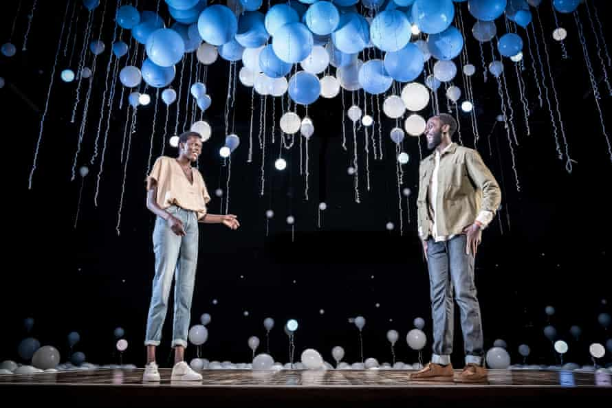 Comedy and pace … Sheila Atim and Ivanno Jeremiah.