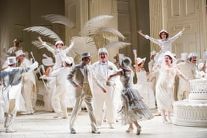 The Mikado by Gilbert and Sullivan at London Coliseum in 2015.