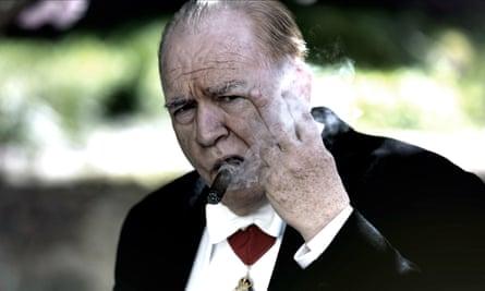 Brian Cox in Churchill.