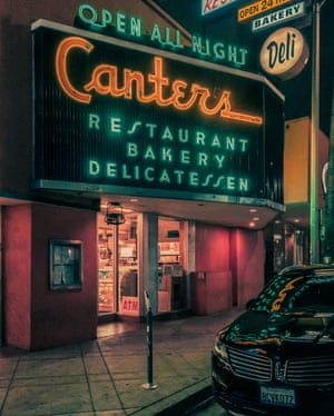 Canter's Deli in Los Angeles by photographer Franck Bohbot.