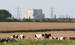 Hinkley Point nuclear power station in Somerset.