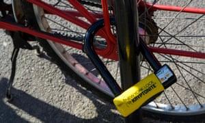Kryptonite New York bicycle lock