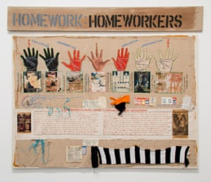 Margaret Harrison's Homeworkers, 1977, part of the Tate exhibition.