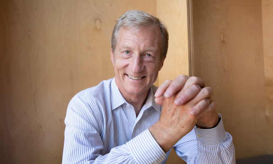 Tom Steyer: 'Are we afraid to tell the truth because it might piss someone off? No.'