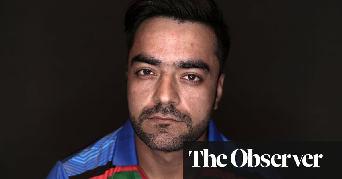 Rashid Khan: 'I didn't have the chance to celebrate with the family'